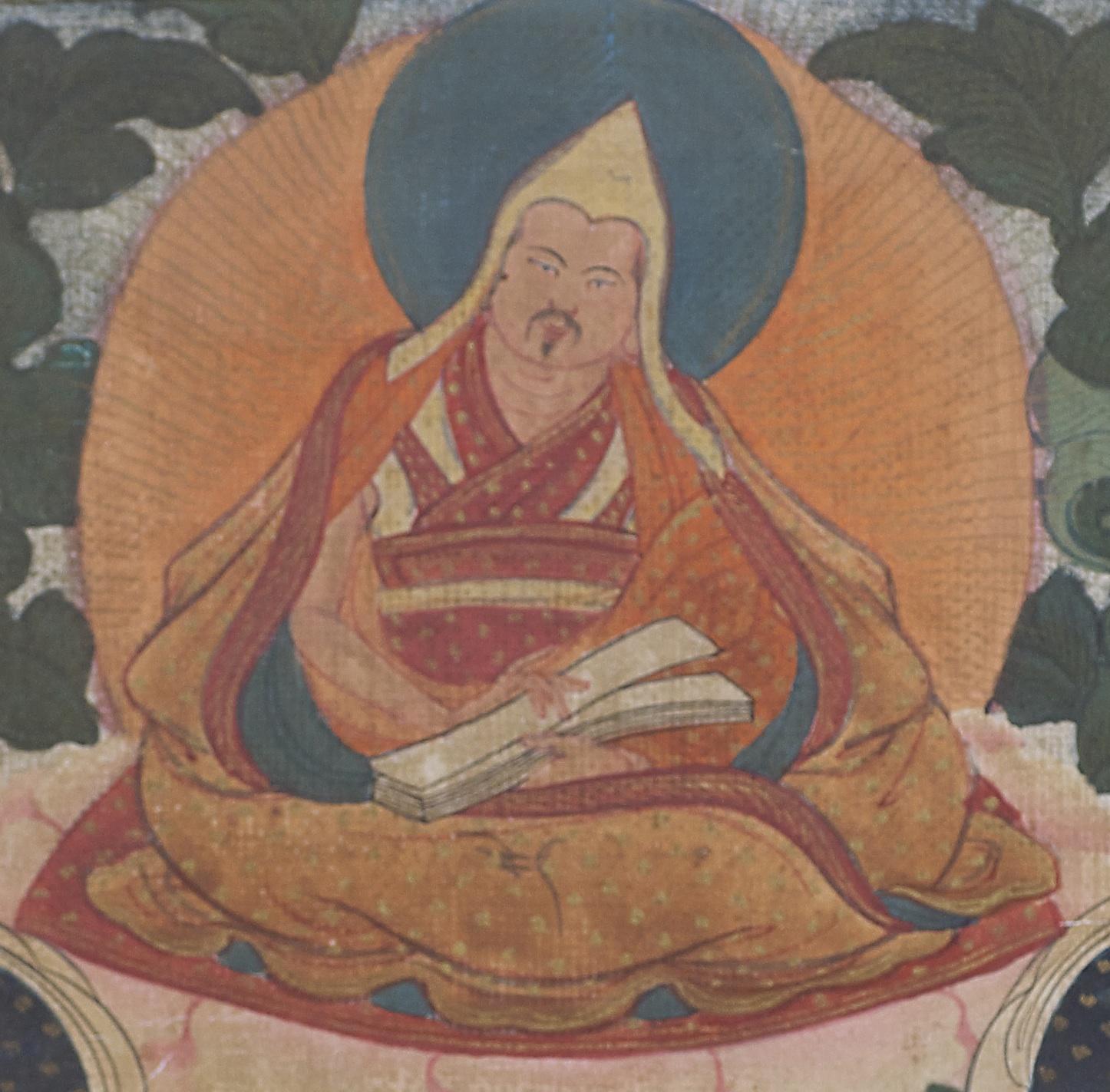 The Eighth Dalai Lama - Jampel Gyatso