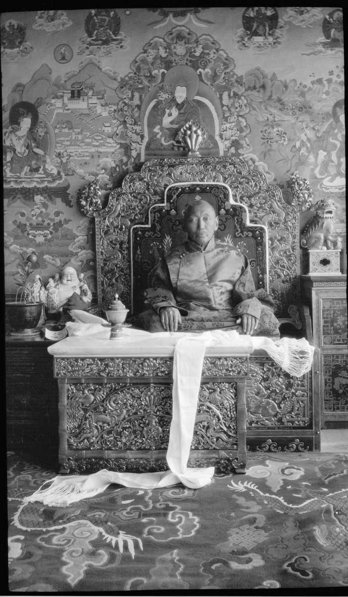 The Thirteenth Dalai Lama Tubten Gyatso The Treasury Of Lives A